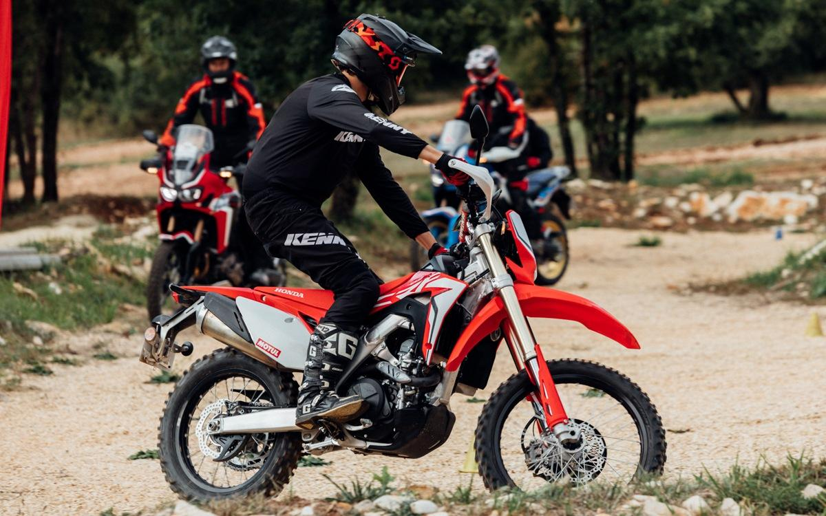 Centre de formation enduro David Fretigné formule groupe