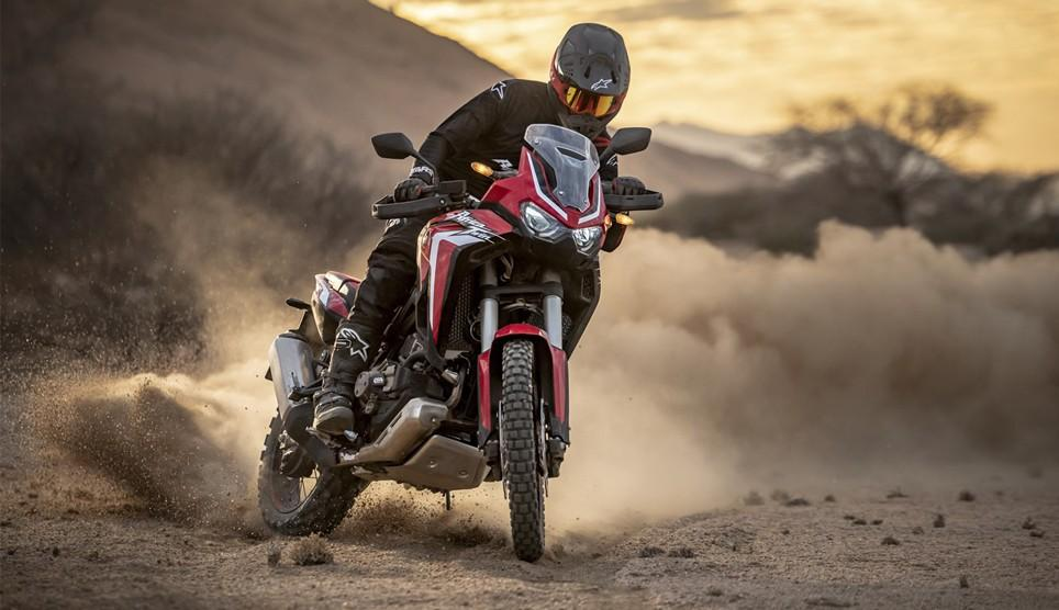 CRF1100L Africa Twin 2020 en location chez David Fretigné
